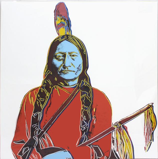 Andy Warhol, 'Sitting Bull A70 (FS IIIA.70)', 1986, Revolver Gallery