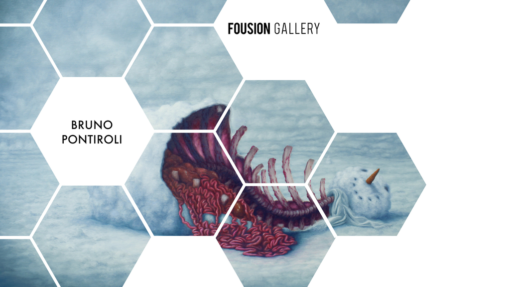 Bruno Pontiroli – Fousion Gallery – at Urvanity Art Fair Madrid 2020
