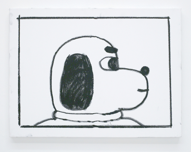 , 'Ben Jones Comics Panel #34 (Dog Profile),' 2016, The Hole