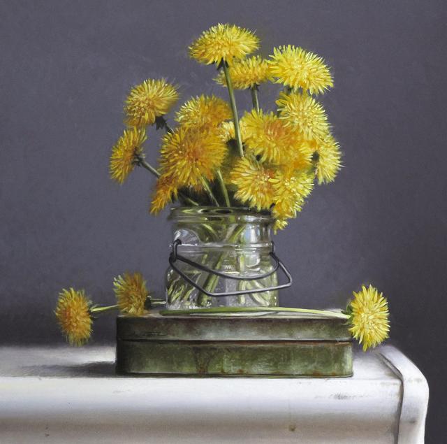 , 'Dandelions,' 2019, William Baczek Fine Arts