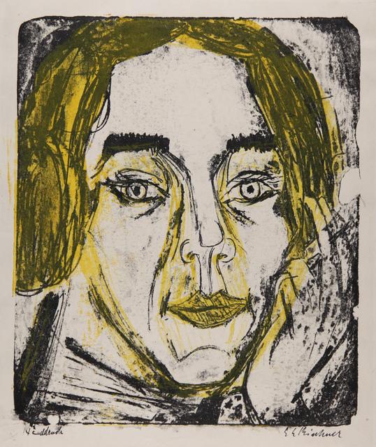, 'Kopf Mary Wigman,' 1926, Henze & Ketterer