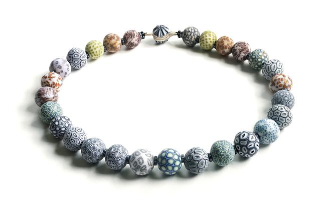 , 'Big Bead Necklace #187,' 2017, form & concept