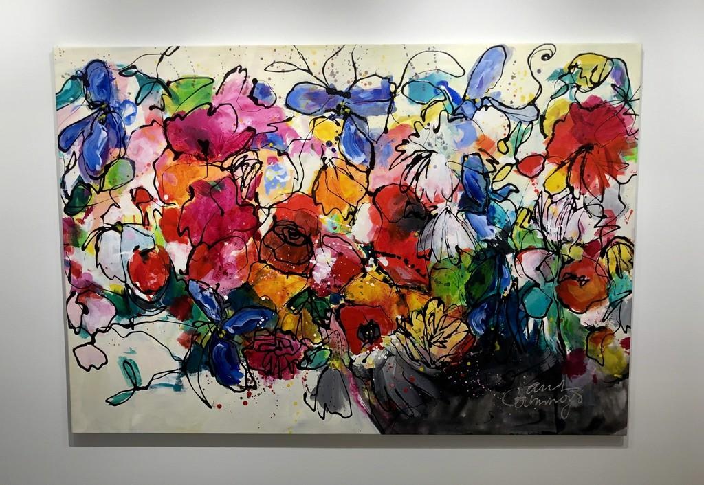 """Bunch of Fun"" by Dutch artist Janet Timmerije"