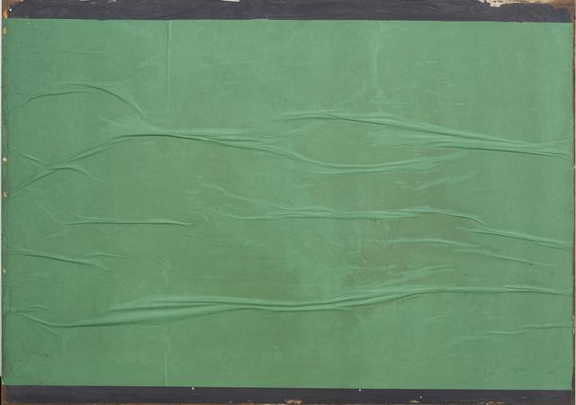 , 'Green blank,' 1981, CARDI GALLERY