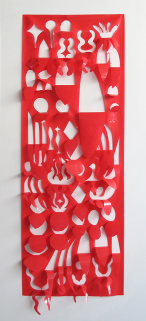 , 'Estandarte fúnebre y celebratorio (1),' 2016, Galeria Leme