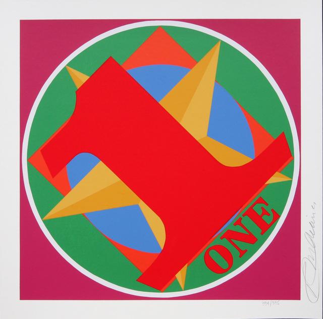 Robert Indiana, 'One Indiana Square', 1998, Denis Bloch Fine Art