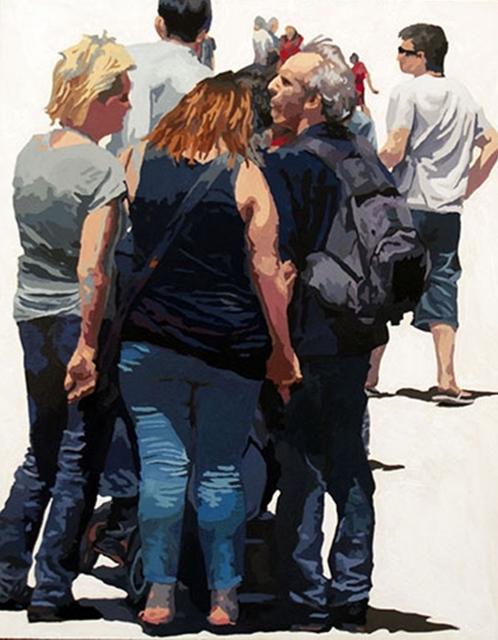 James Oliver (1972), 'Crowd (Composition #19)', George Billis Gallery
