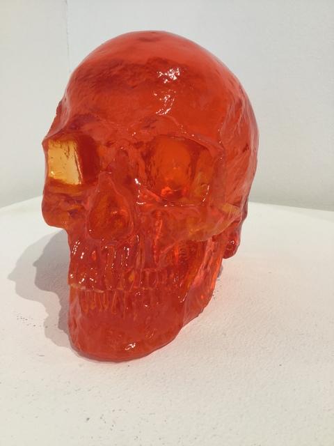Sam Tufnell, 'Sam Tufnell, Scarlet Skull ', 2018, Oliver Cole Gallery