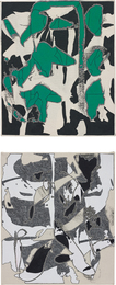Zak Prekop, '2 works: (i) Reversal with Green; (ii) Unmeasured Pattern,' 2014, Phillips: New Now (December 2016)