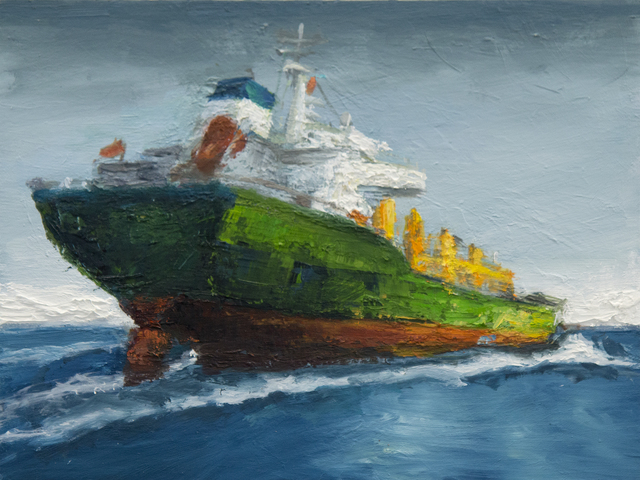 , 'The Green Ship,' 2015, Susan Eley Fine Art