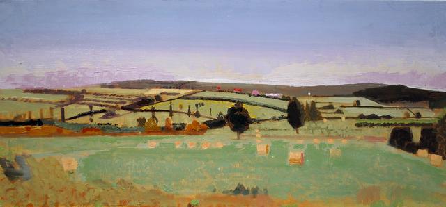 , 'Field in Burgundy,' 2008, Gallery Henoch