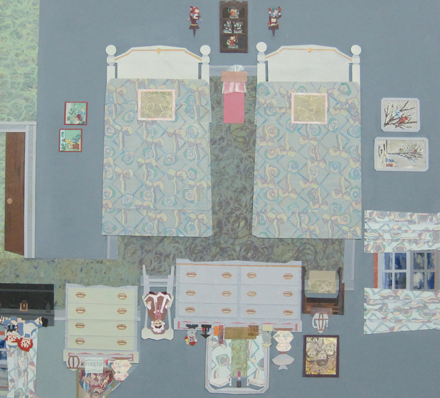 , 'Carolyn and Ann's Room,' 2013, Tibor de Nagy