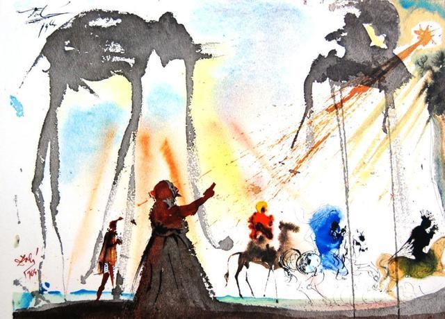 Salvador Dalí, 'Biblia Sacra: Omnes De Saba Venient (They Will All Come From Saba) 4-5', 1964, Baterbys