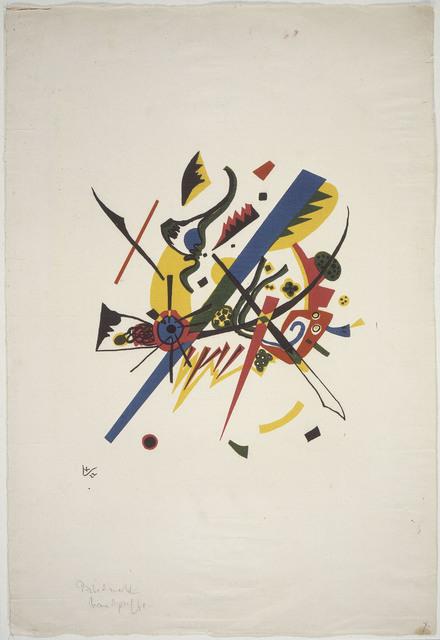 , 'Neuf éléments de cercle chromatique,' 1922-1933, Les Arts Décoratifs
