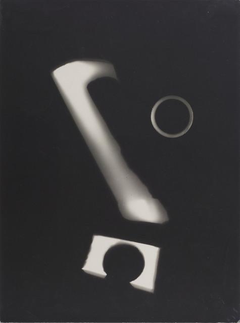 Wols, 'Ohne Titel (Photogramm), Paris 1/5', 1938, Galerie Julian Sander