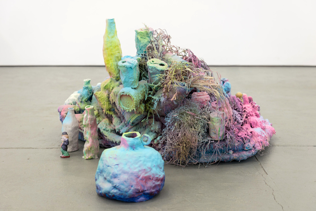 , 'Blankets, jug,' 2015, Galerie Antoine Ertaskiran