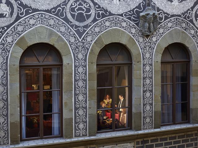 , 'Curls, Palazzo Guicciardini, Florence, April,' 2018, Jackson Fine Art