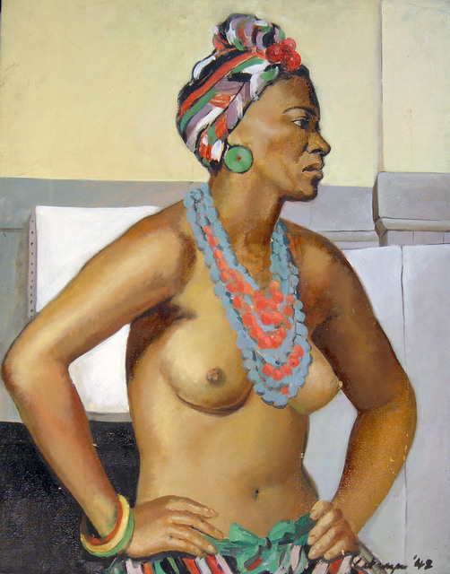 , 'Figure Study,' 1942, Benjaman Gallery Group