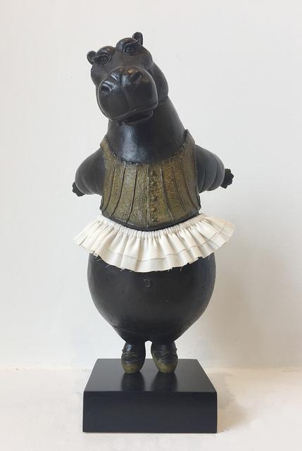 , 'Hippo Ballerina, tiptoe,' 2018, Cavalier Galleries