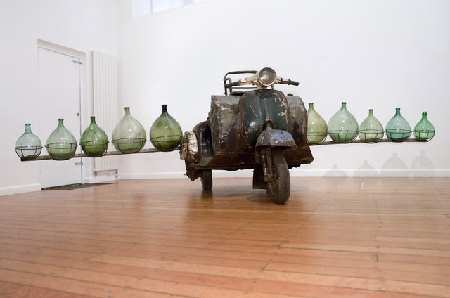 , 'Petrol Cargo,' 2012, October Gallery