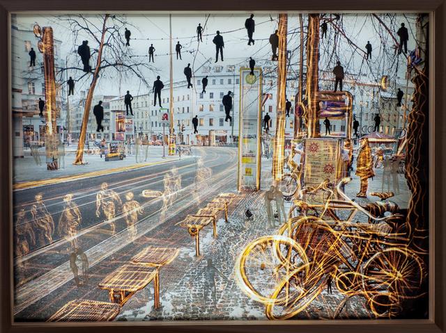 , 'Rosenthalerplatz, Berlin,' 2014, Vision Neil Folberg Gallery