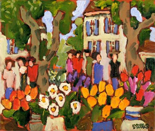 , 'ESCAPADE PROVENCAL,' 2011, Roberts Gallery Ltd.