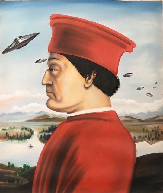 Angelo Barile, 'Federico da Montefeltro', 2019, Afnakafna