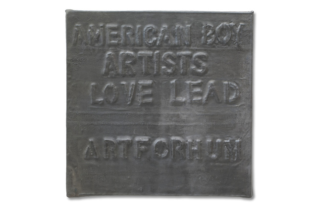 , 'Untitled (American Boy Artists Love Lead),' 1972, Henrique Faria Fine Art