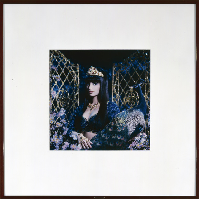 , 'La princesse et le paon (Sophiya),' 1989, Galerie Andrea Caratsch