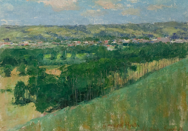 , 'Giverny,' 1888, Questroyal Fine Art