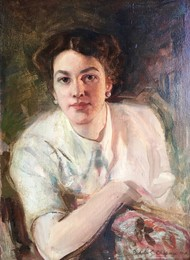 Portrait of Dora Rinehart