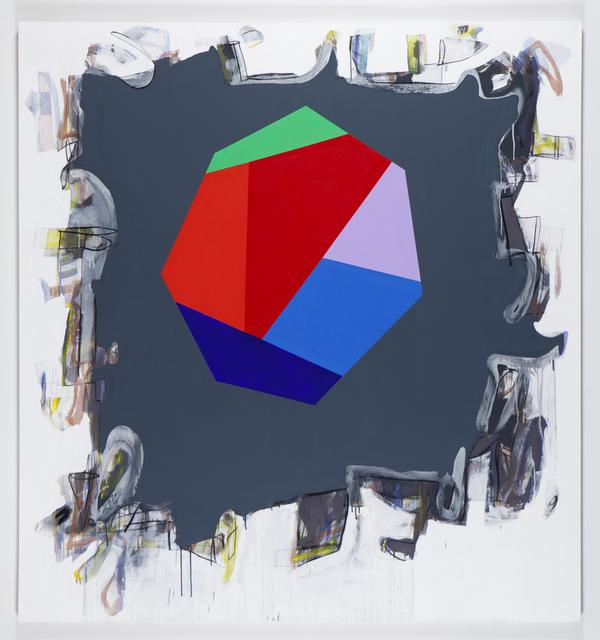 Peter Plagens, 'untitled (to J.W.R. Dunne)', 2017, Nancy Hoffman Gallery