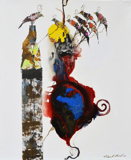 Frank David Valdés, 'Passage 7', 2018, Painting, Mixed media on canvas, ArteMorfosis - Cuban Art Platform