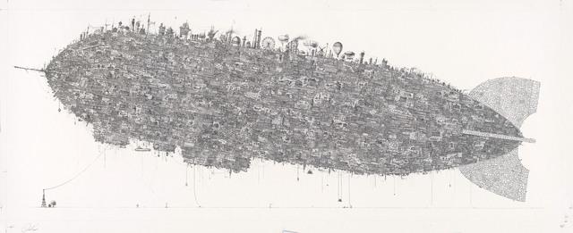 , 'Airship,' 2015, Conduit Gallery