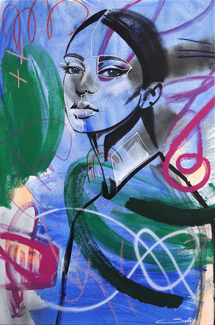 Sally K, 'Series II Blue', 2019, Artspace Warehouse