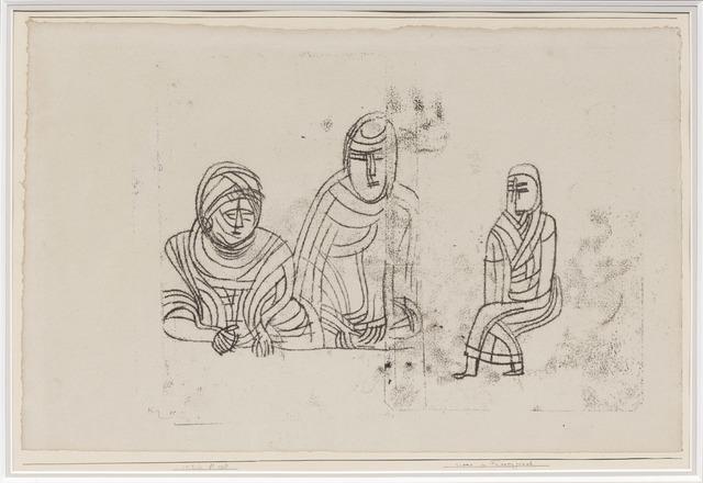 , 'Scene im Frauengemach,' 1926, DICKINSON