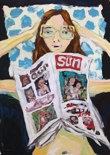 , 'Sun,' 2017, Sim Smith