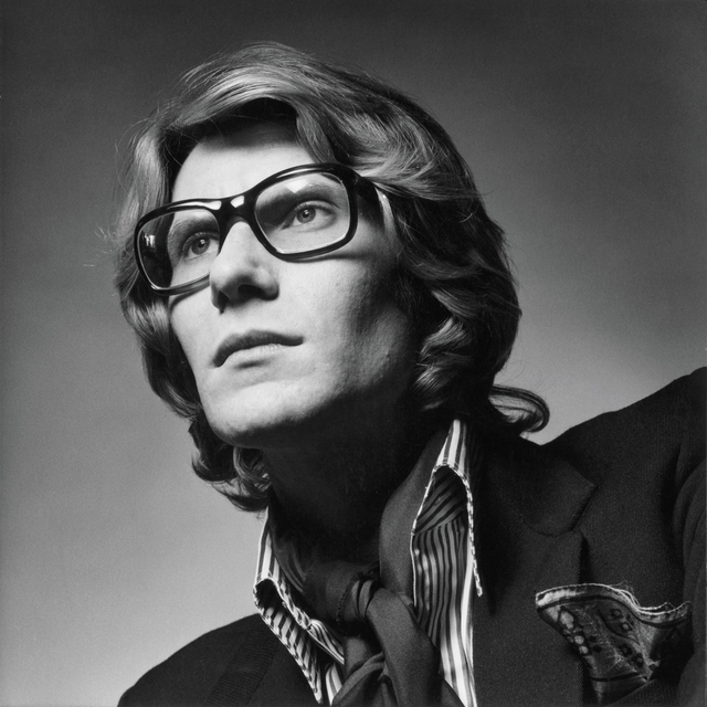 , 'Portrait of Yves Saint Laurent,' 1969, Seattle Art Museum