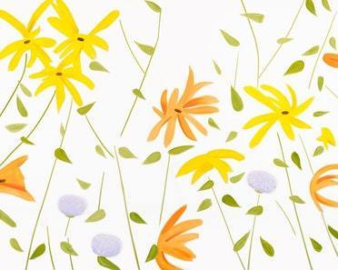 Alex Katz, 'Summer Flowers 2', 2017, Print, Archival pigment inks on Crane Museo Max 365gsm paper, Pop Fine Art