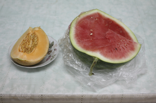 , 'Watermelon and Melon,' 2010, Meislin Projects