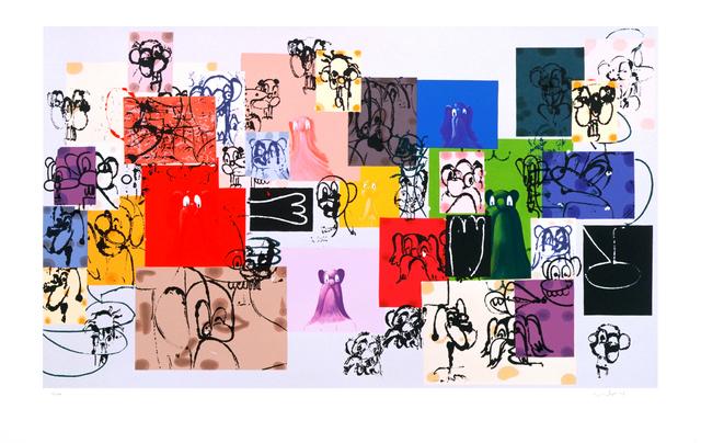 , 'Paper Faces,' 2000, The Cash Register Art Project