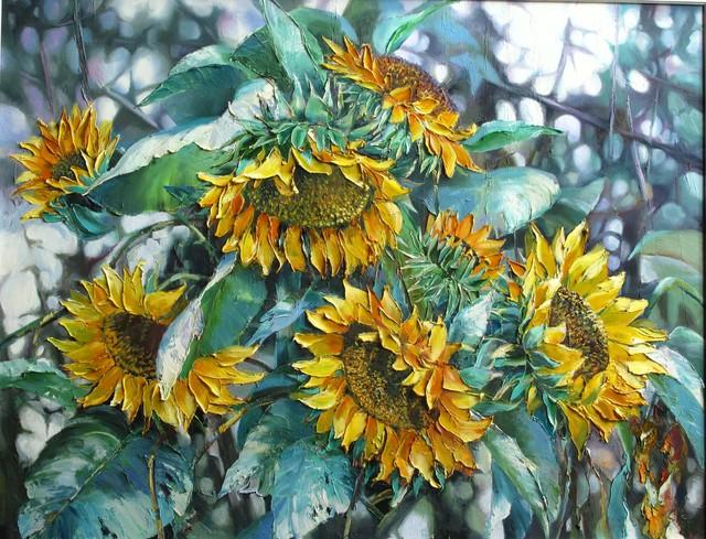 , 'Sunflowers,' 2015, A-Art Shengzan Gallery