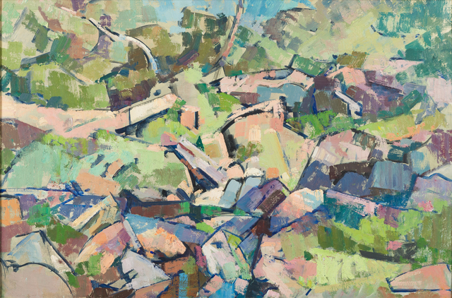 , 'Ruined Mill Dam at Quinapoxet Pond,' ca. 1960, Childs Gallery
