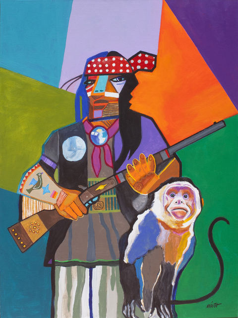 , 'Cochise with Mascot,' 2010, Ventana Fine Art