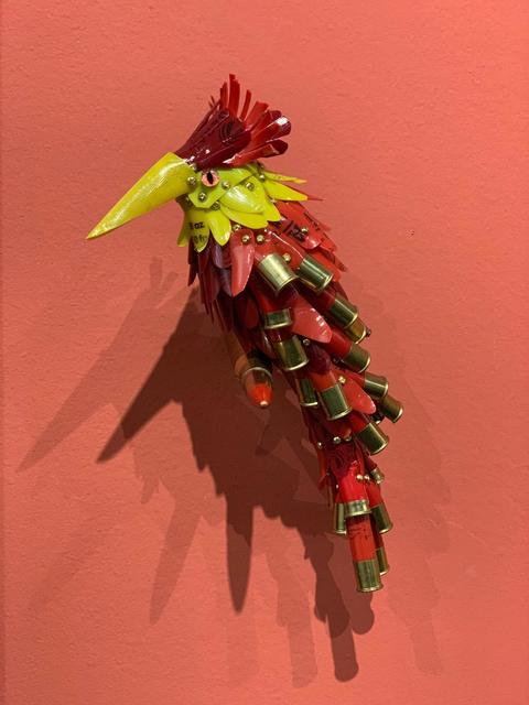, 'Red Feathers,' 2019, Adelson Galleries