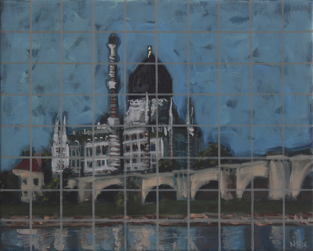 , 'Central European Orient Yenidze Dresden,' 2016, Knoll Galéria Budapest