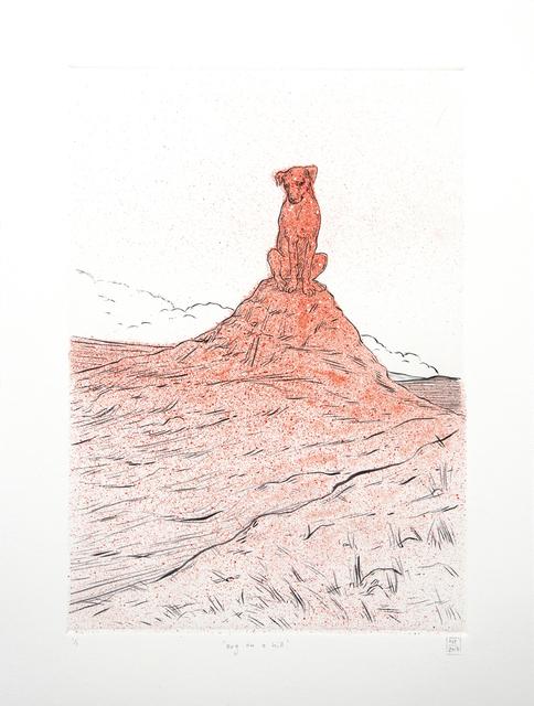 Nina Torr, 'Dog on a Hill', 2018, David Krut Projects