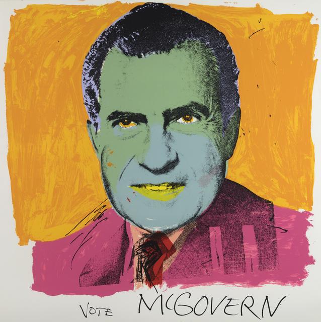 Andy Warhol, 'Vote McGovern', 1972, Heather James Fine Art