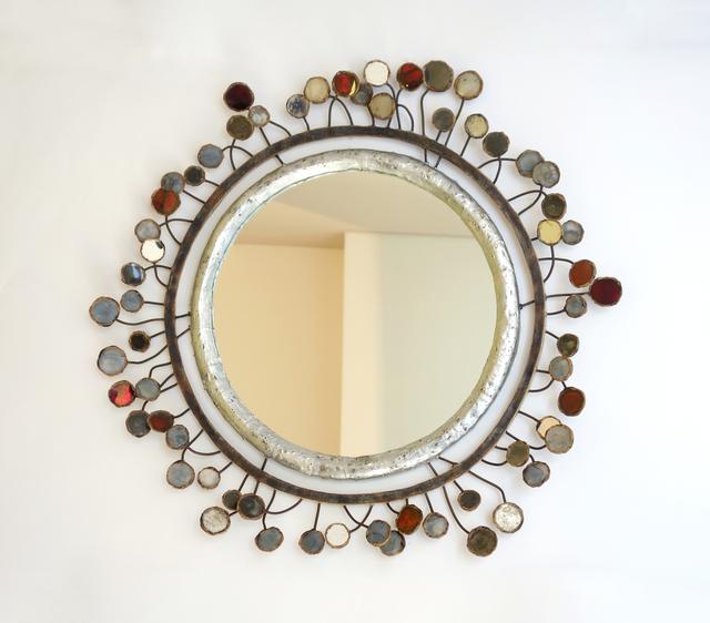 """, '""""Sequins"""" mirror,' ca. 1960, Galerie Chastel-Maréchal"""