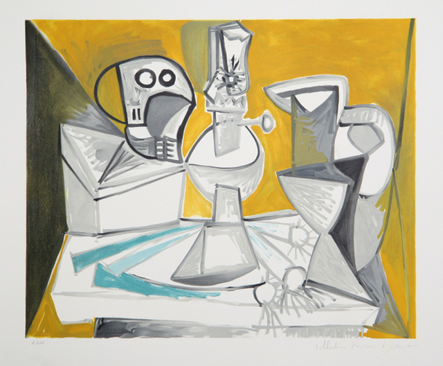 Pablo Picasso, 'Tete de Mort, 1945', 1979-1982, Print, Lithograph on Arches paper, RoGallery